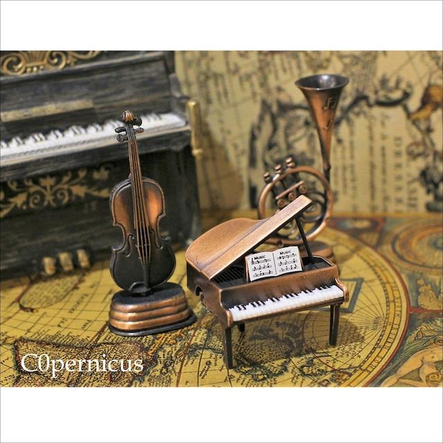 【ミニチュア楽器】ピアノ バイオリン ホルン サックス鉛筆削り/浜松雑貨屋 C0pernicus