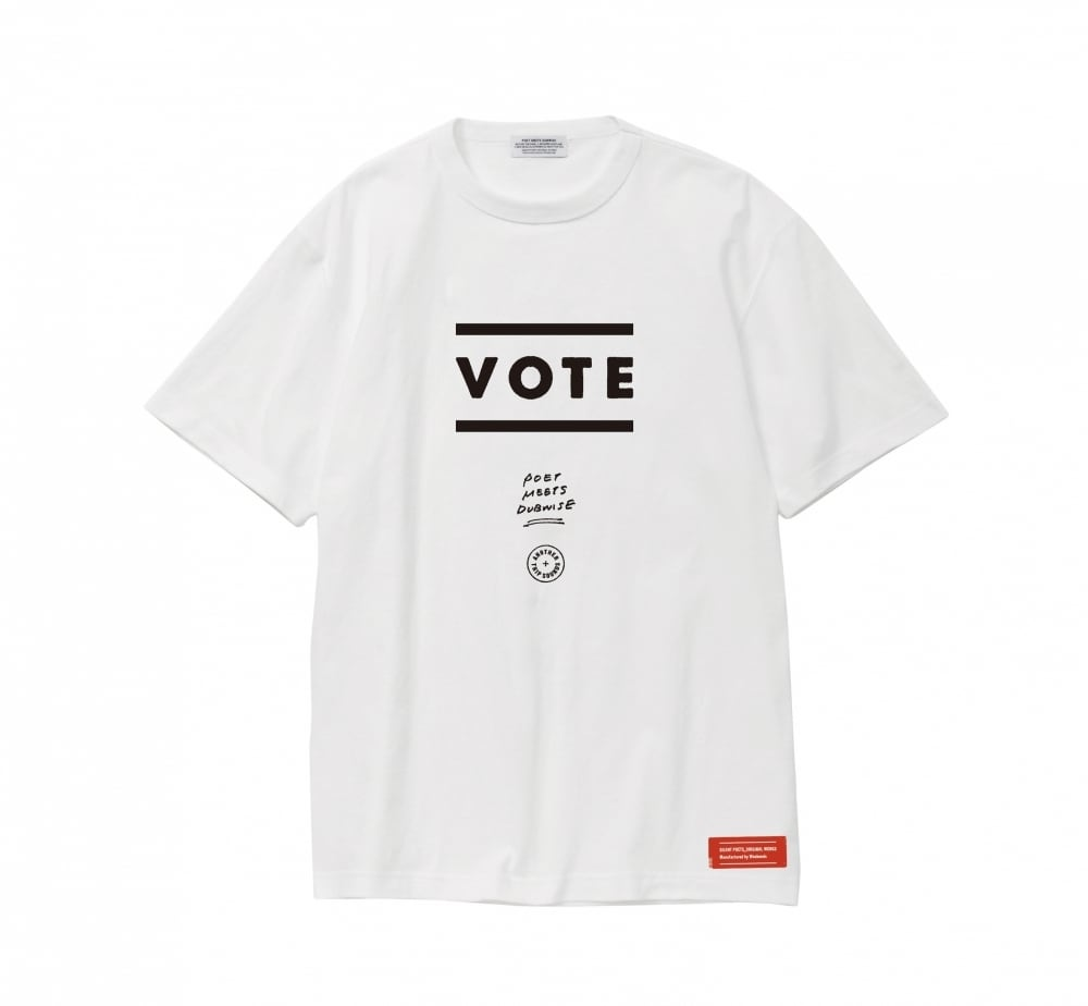 【40% OFF】POET MEETS DUBWISE / LOGO TEE(VOTE)