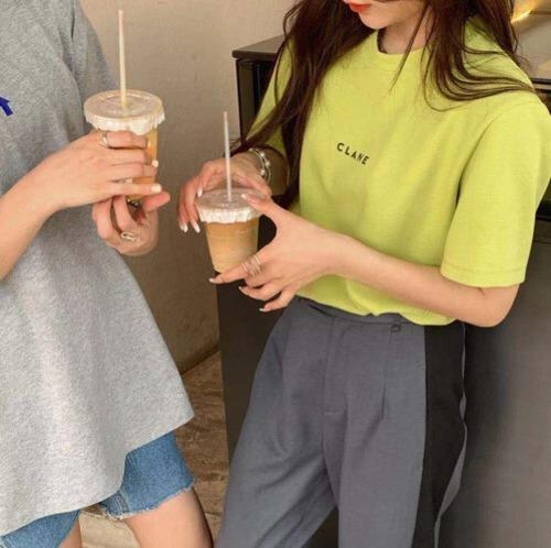 【即日発送】CLANEロゴTシャツ8959