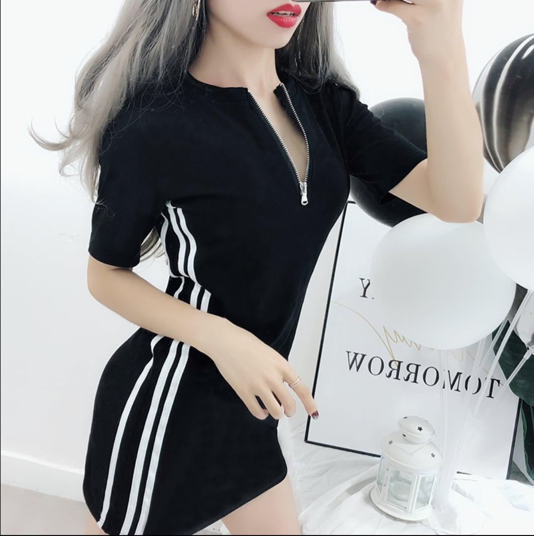 side  line dress 2color