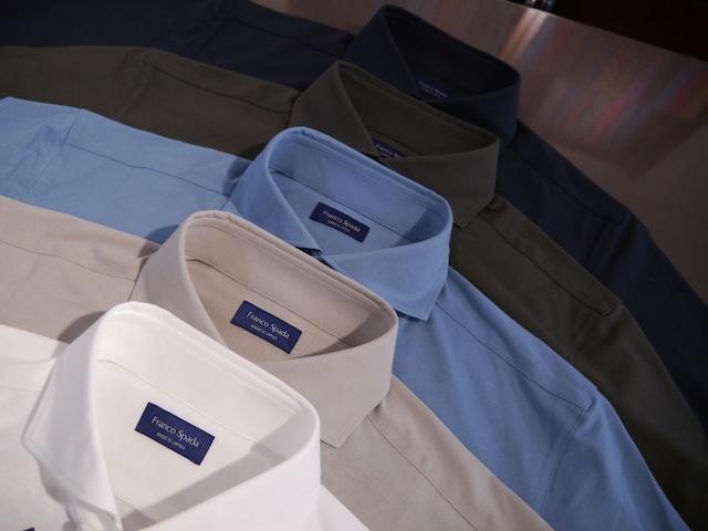 天然高級綿使用 プルオーバーシャツ