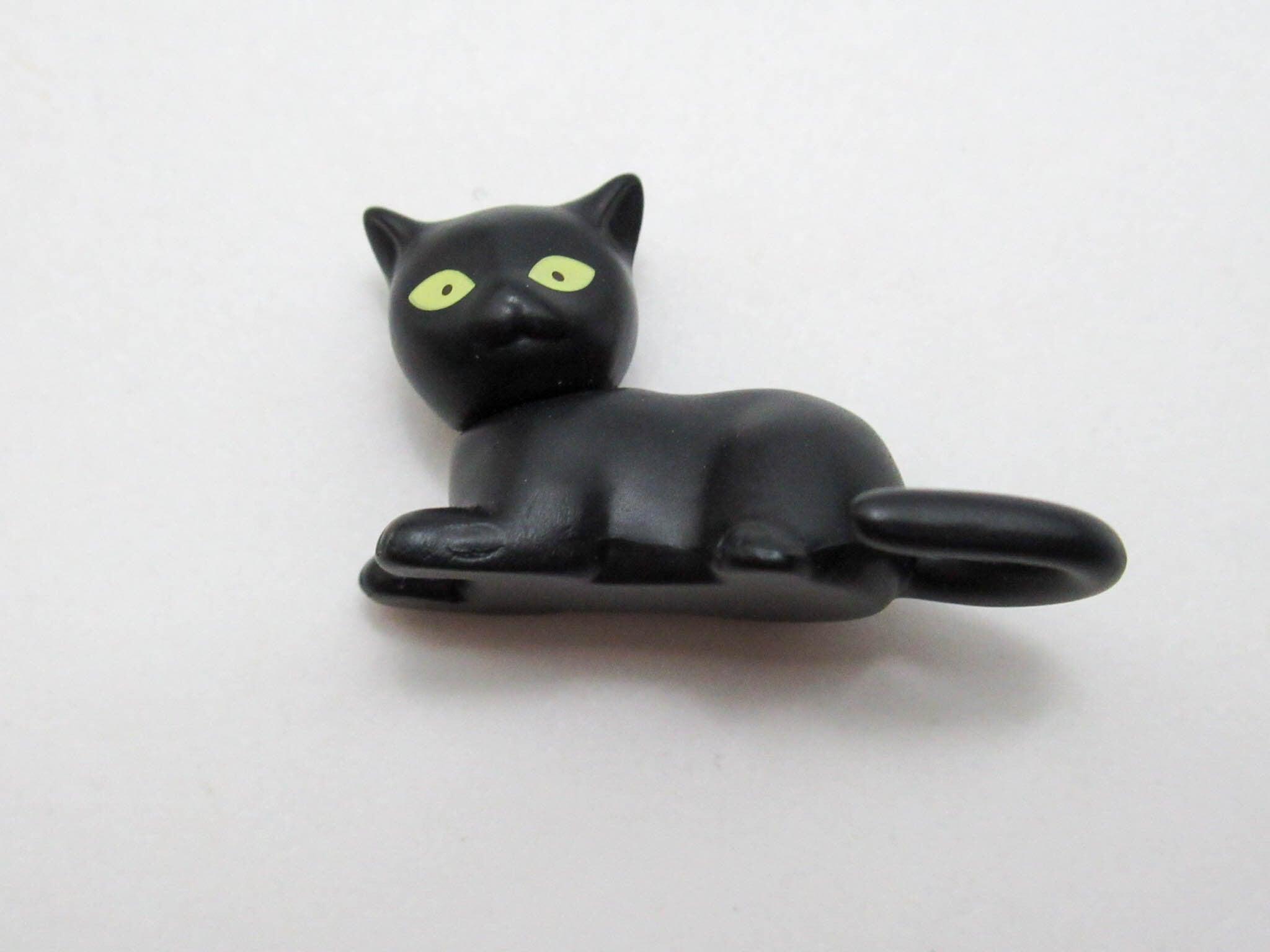 再入荷【943】 菱田春草 小物パーツ 黒猫 ねんどろいど