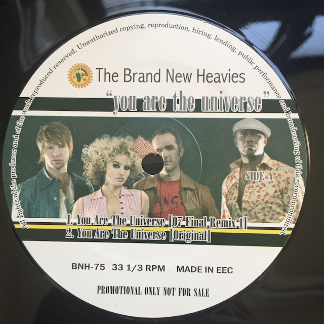The Brand New Heavies – You Are The Universe