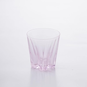 SAKURASAKU glass (サクラサクグラス) Rock(ロック)【ピンク】単品 木箱入り