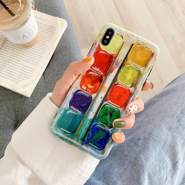 Paint color box iphone case
