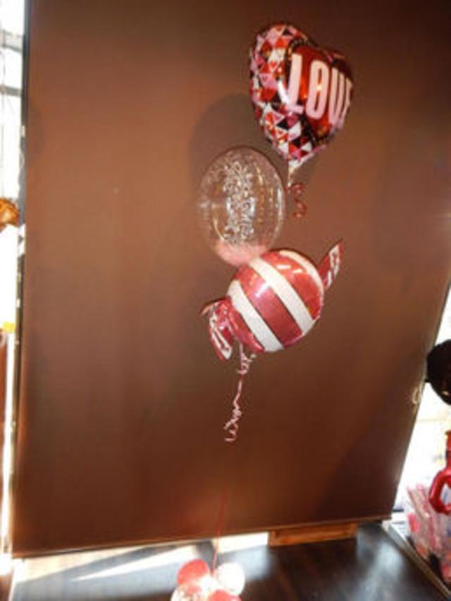 キャンディがかわいい!バルーンブーケ