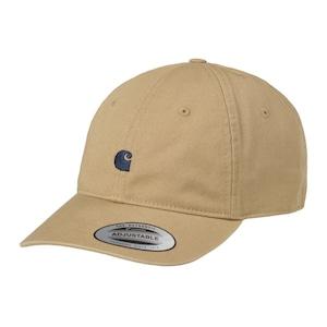 Carhartt (カーハート)MADISON LOGO CAP - Leather / Dark Navy