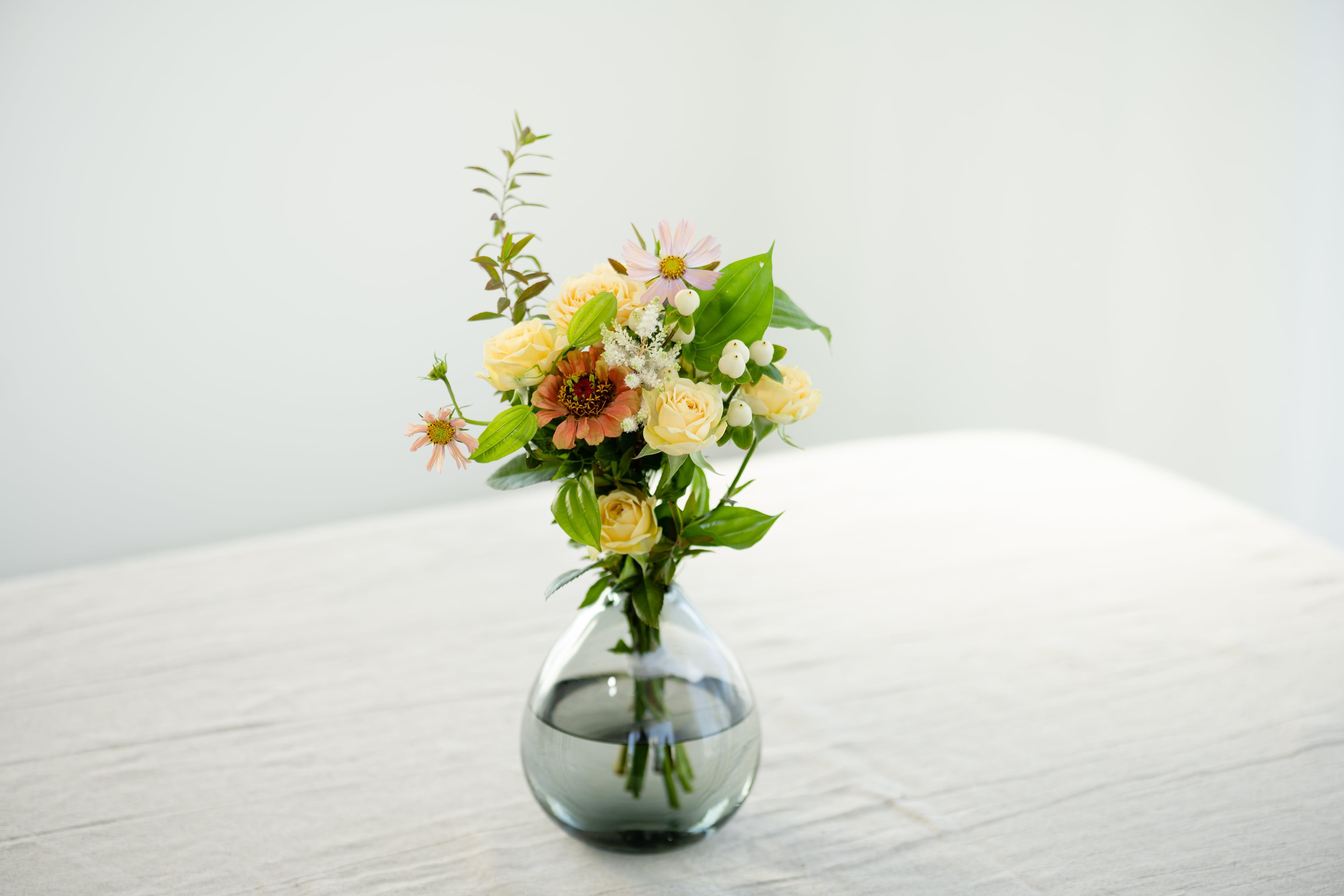 小さな季節の花束 yellow