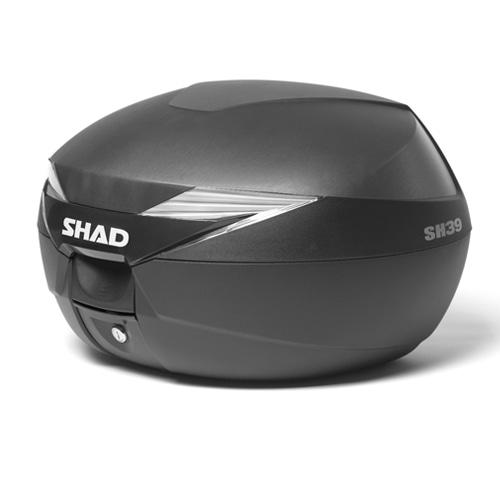 バイク リアボックス ハードケース SHAD SH39 リアボックス 無塗装ブラック