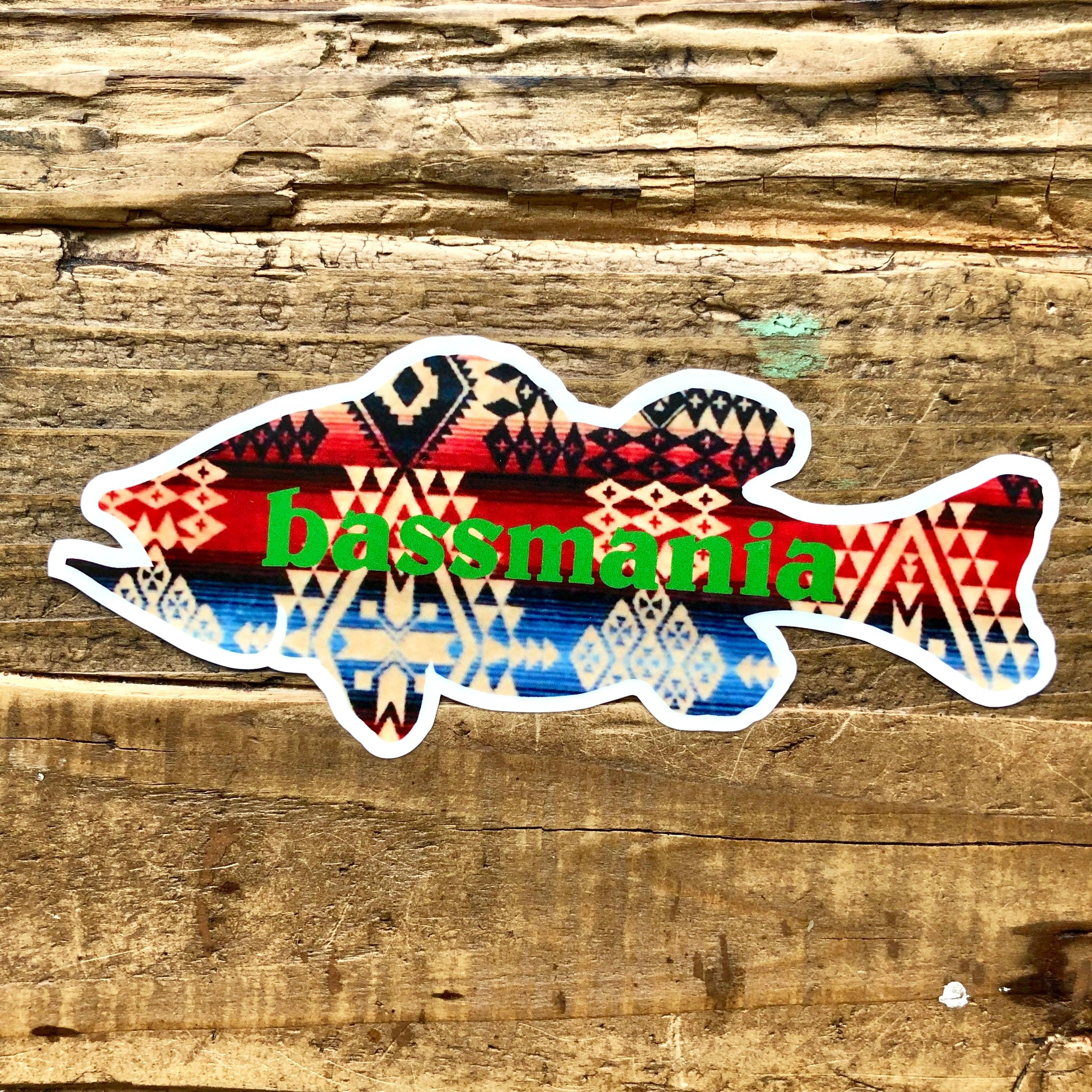 NATIVE BASS sticker