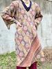 Indie Ella Boho Patterned Silk Dress
