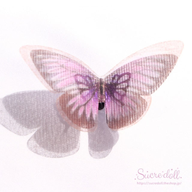 [藤] 胡蝶の夢 ヘアクリップ