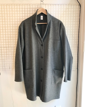 Atelier coat : heather charcoal