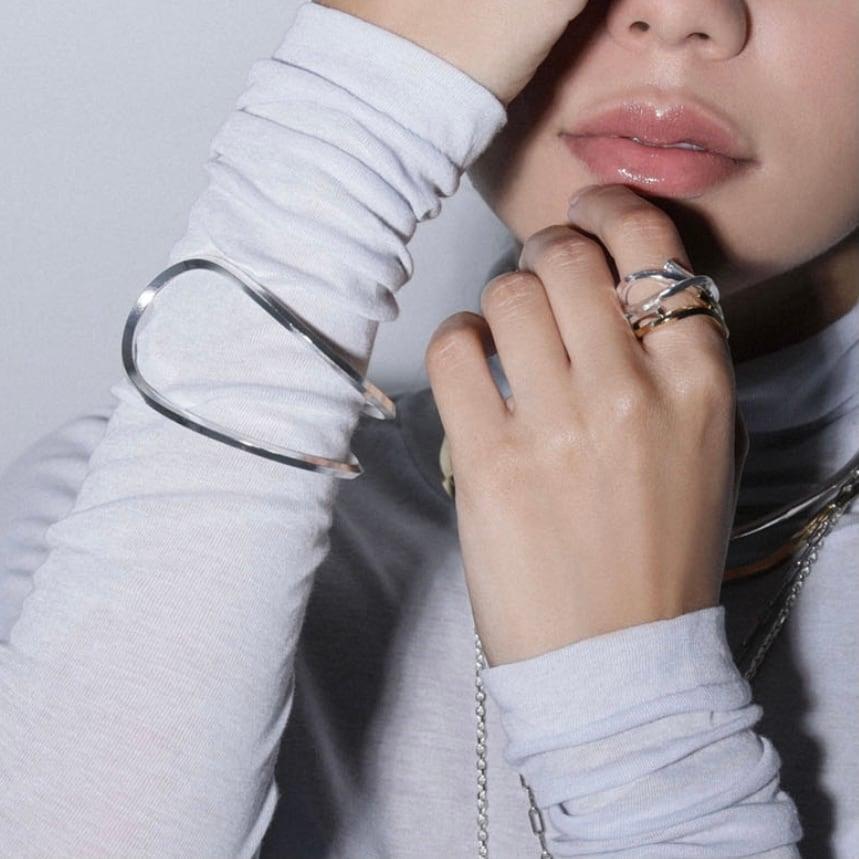 【 sea'ds mara 】Warped W bracelet