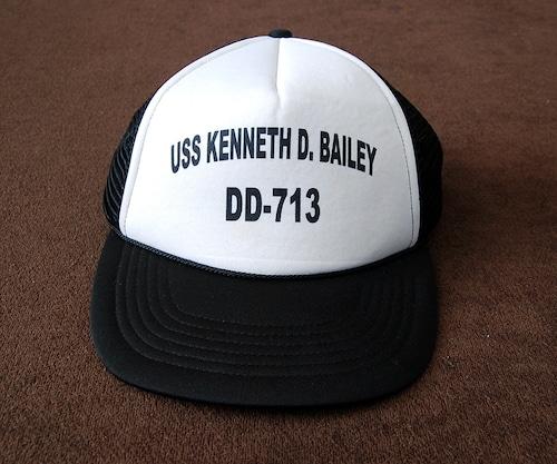 Vintage USS KENNETH D. BAILEY DD-713 Cap