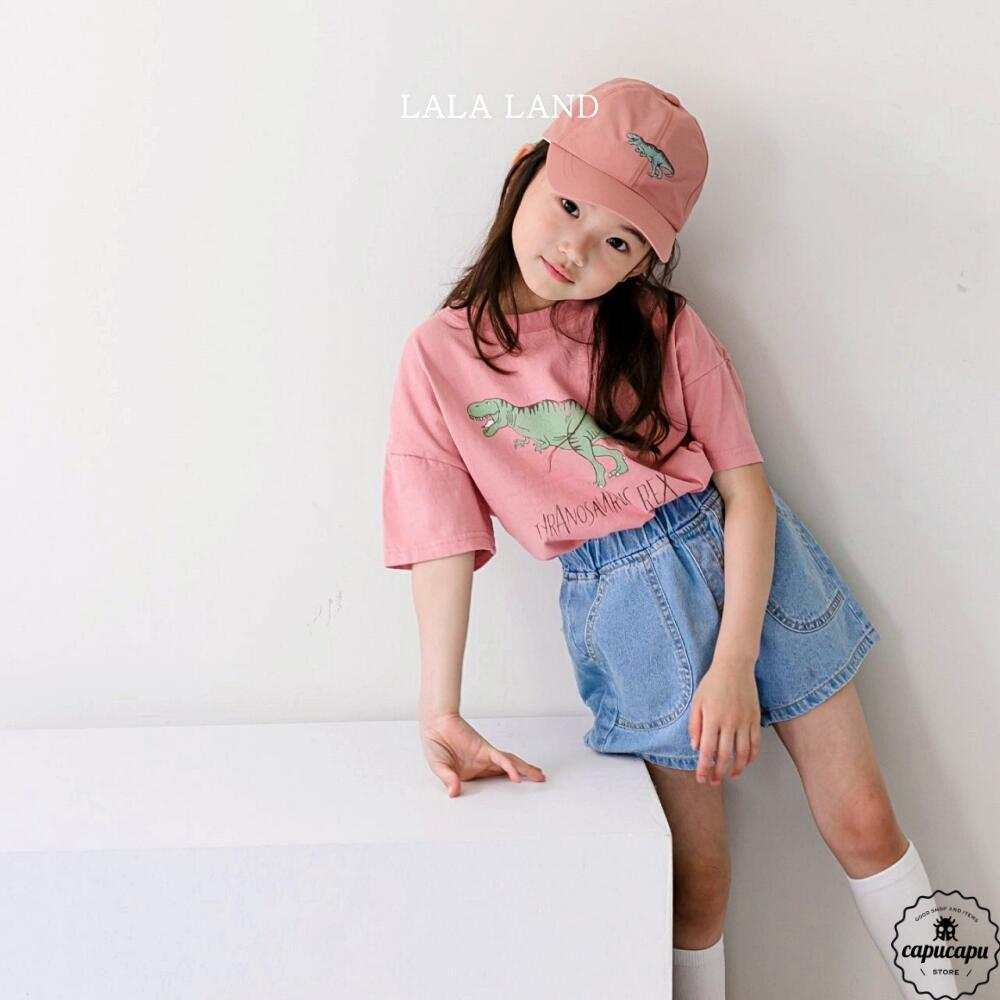 «sold out» LALA LAND dino T shirts 3colors 恐竜Tシャツ