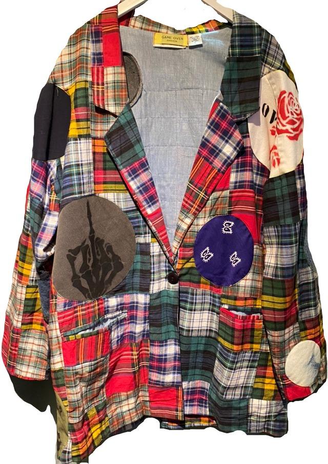 【GAMEOVER】セディショナリーズディズニーパッチワークテーラードジャケット