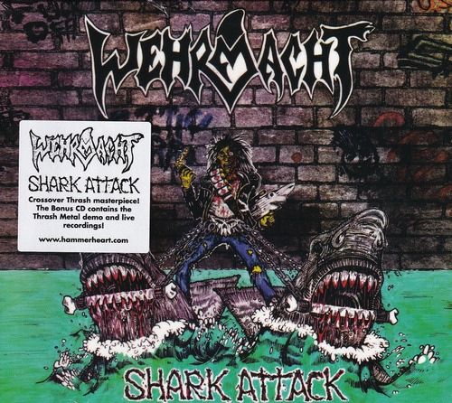 WEHRMACHT 『Shark Attack (Slipcase, Re-issue & 2CD)』