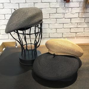 【D'ari】Paper braid point beret   ベレー       ARI-686