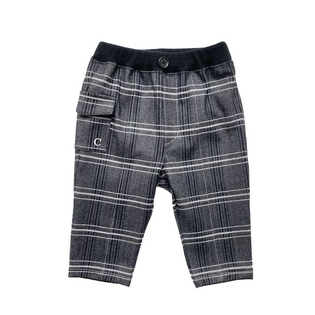 【ベビー服】サイドポケットパンツ / ホワイト / 80~100サイズ