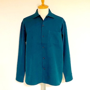 LANATEC®LEI Regular Collar Shirts Green