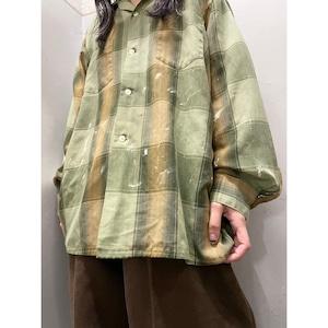 70's ARROW オープンカラーシャツ