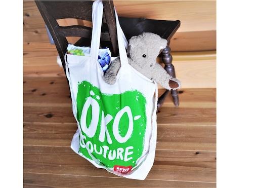 ドイツ REWE スーパーマーケット エコバッグ ななめがけバッグ お買い物バッグ