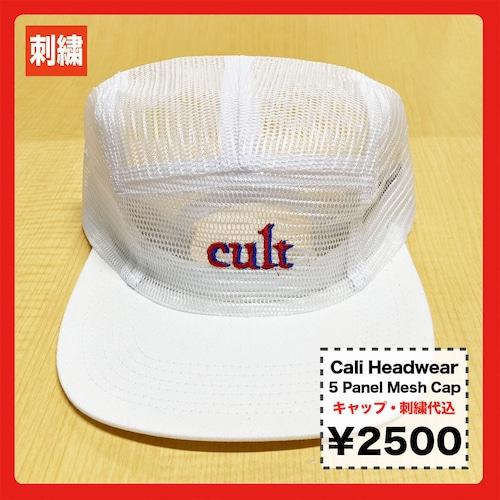 Cali Headwear 5 Panel Mesh Cap (品番CP50M)
