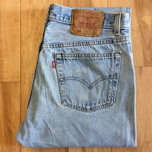 """90's Levi's 501 W33 inch  """"Made in USA"""""""