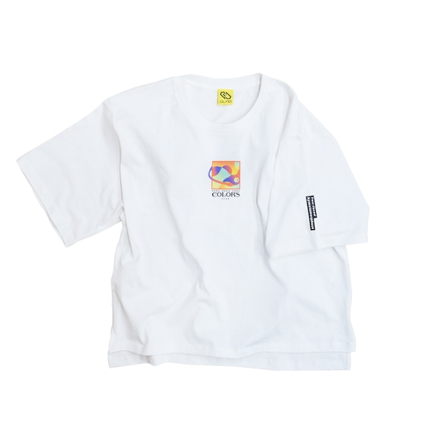 Colors BIG T-Shirts / White