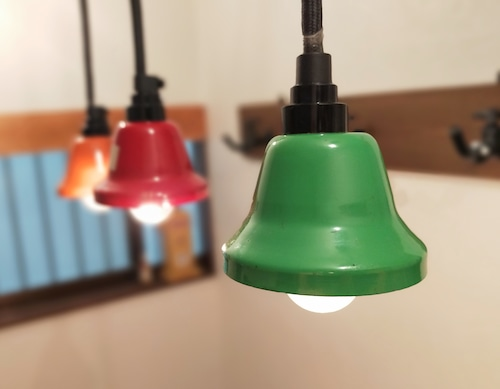 Pendant Light「Music Bell」Green