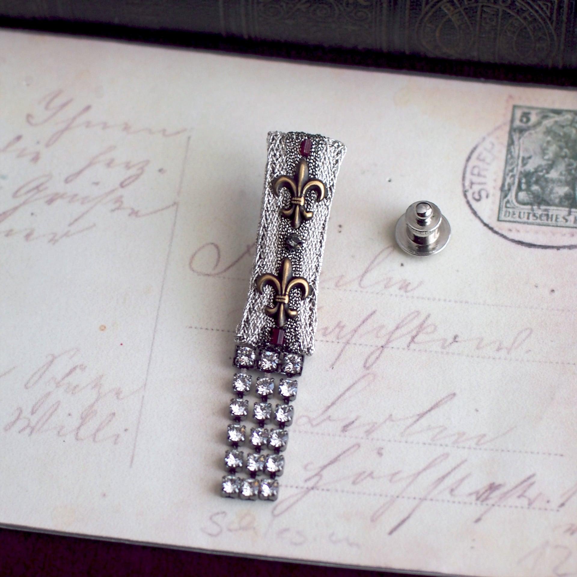 ユリの勲章 / ラペルピン(Silver5)
