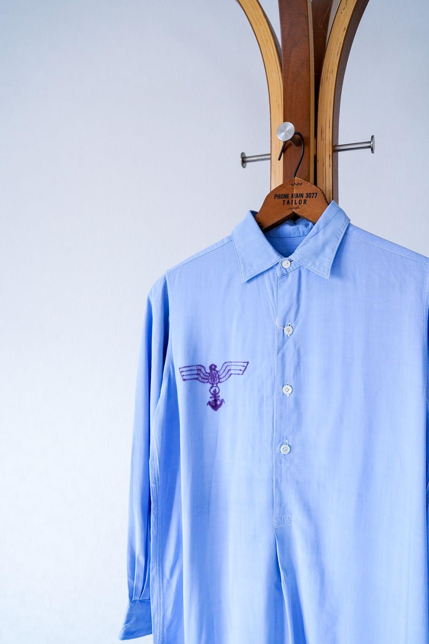 "【1950s】""US Made"" Vintage Grandpa Shirts / v669"