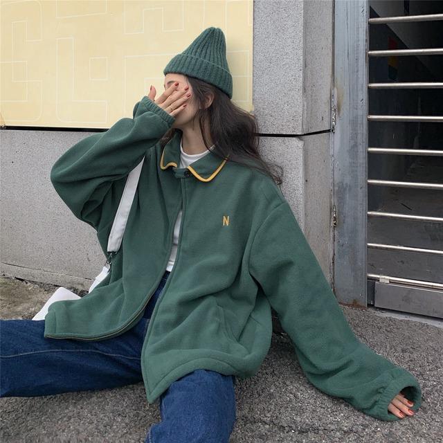 レトロフリースジャケット
