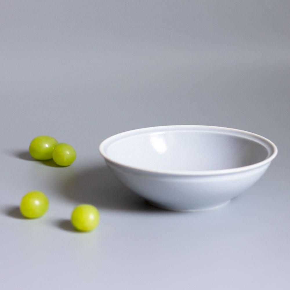 aito製作所 「シエル Ciel」きほんのうつわ 取り皿 とんすい 直径約14×深さ4.2cm ライトグレー 美濃焼 520111