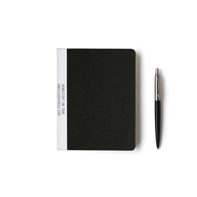 MUCU Blank Note ブラック Sサイズ