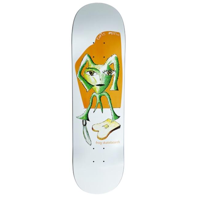 Frog skateboards Toast (Chris Milic) Deck
