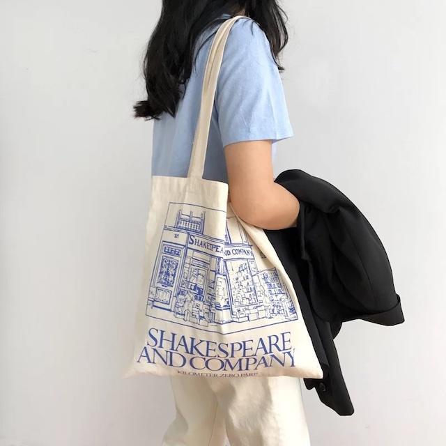 Blue design eco bag