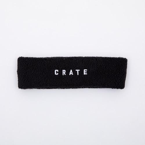 CRATE HEAD BAND Black