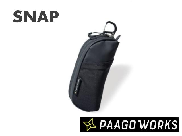 【paagoworks】 SNAP BK(Black)