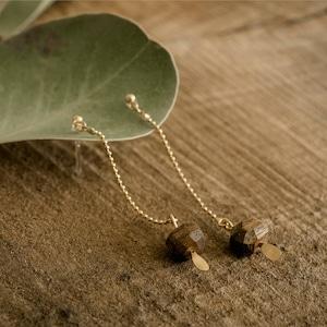 オニグルミ|木の粒ピアス・イヤリング