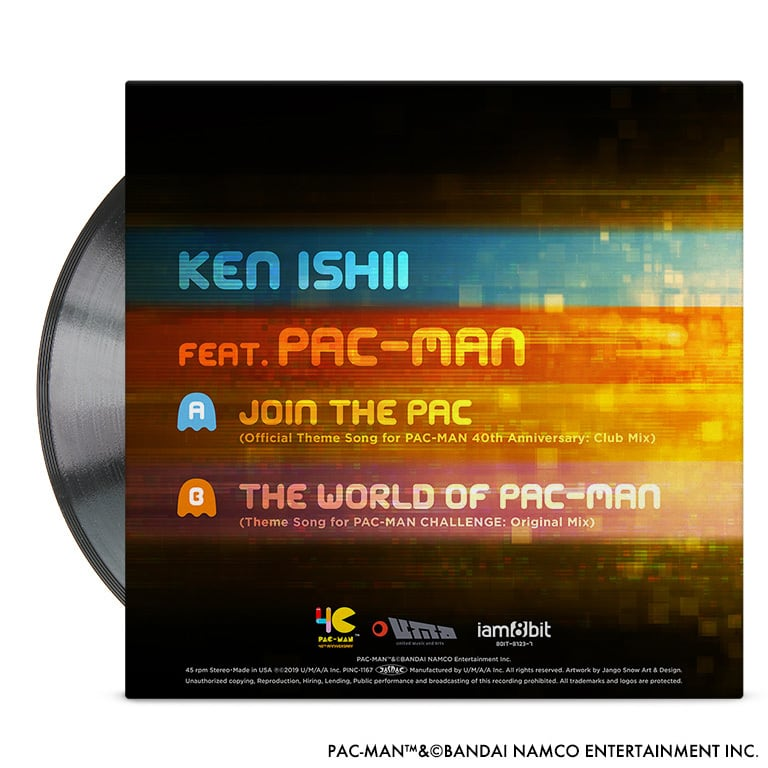 JOIN THE PAC - KEN ISHII feat. PAC-MAN【7inch EP】 - 画像2