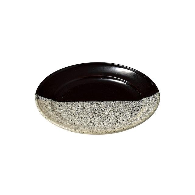 aito製作所 「グレイズワークス Glaze works」プレート 皿 21cm グレー 美濃焼 266400