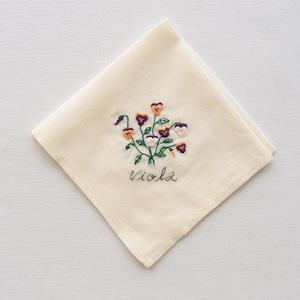 3つの小さな庭【ビオラ】| Sunny Thread 刺繍キット