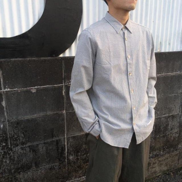 DNL Italy スリムフィットシャツ グレー