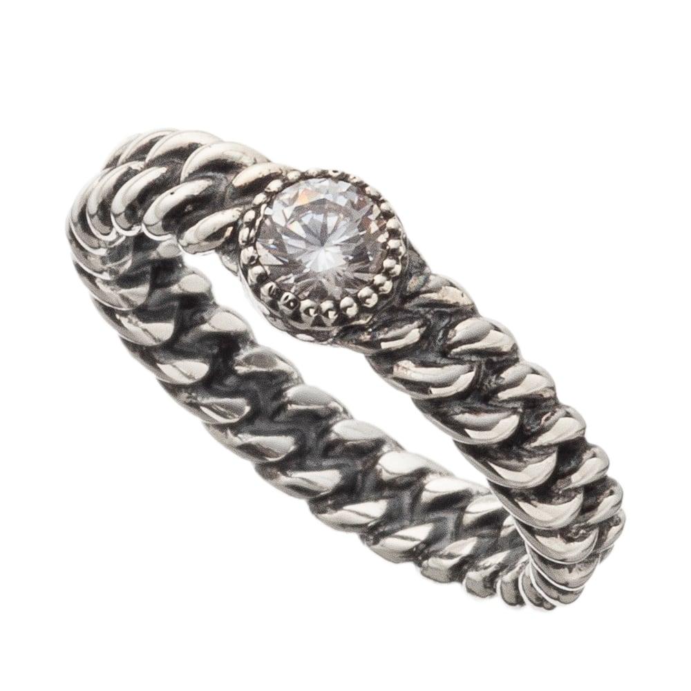 喜平ストーンリングCL ACR0275 Kihei Stone Ring Clear