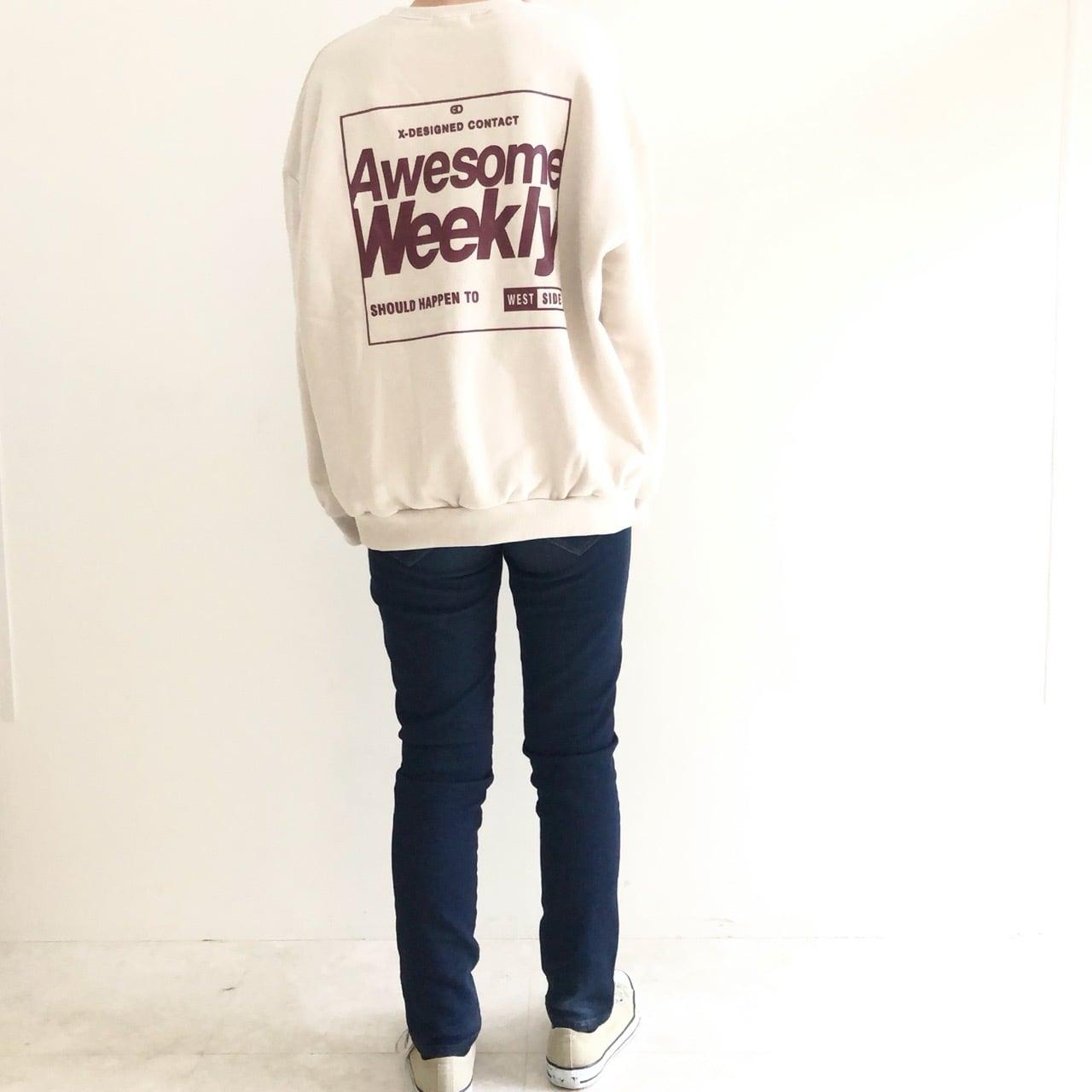 【 Days 】- 219-1001 - Weeklyロゴトレーナー