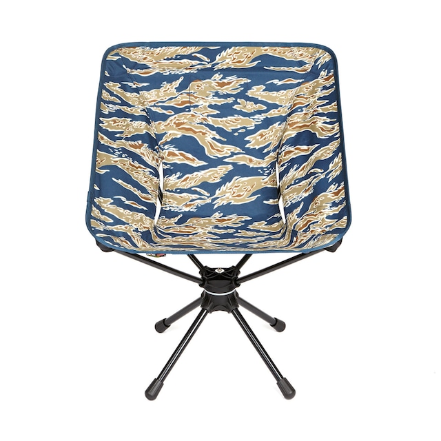 Helinox(ヘリノックス)Tactical Swivel Chair(タクティカル スウィベルチェア) タイガーストライプカモ