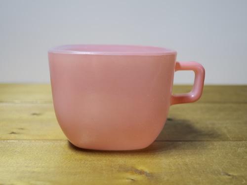 Glasbake リプトンスープマグ ピンク