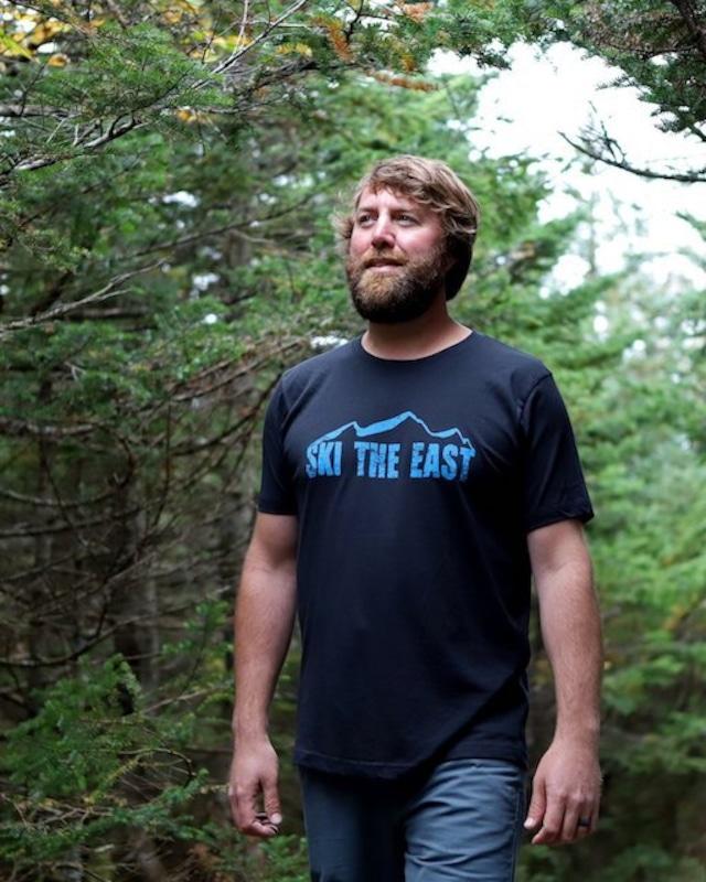 SKI THE EAST -  Vista Tシャツ(ブラック)